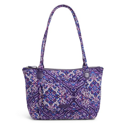 Carson East West Tote Bag in Regal Rosette