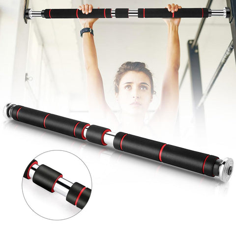 Adjustable Door Hole-Free Pull Up Horizontal Bar Fitness Equipment Home Gym