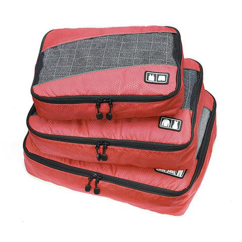 Durable Portable Print Zipper Closure Storage Bag Travel Storage Bag