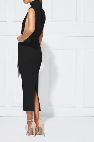 Misha Collection Balbina Dress Ebony