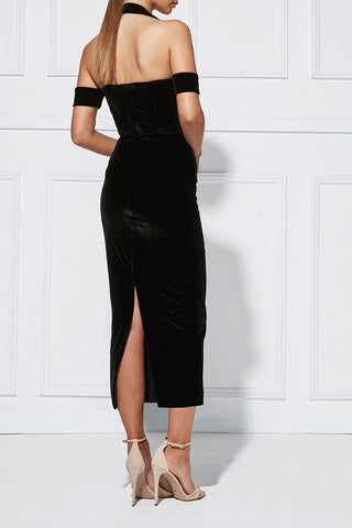 Misha Collection - Angelina Velvet Dress