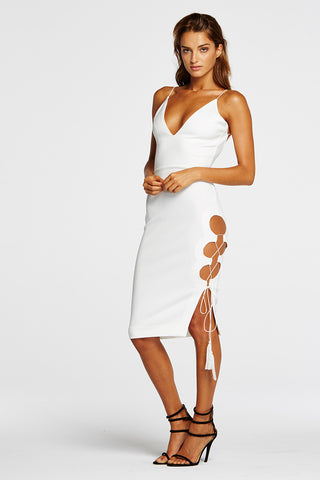Maurie & Eve He Keeps Watch Dress White