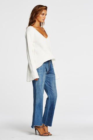 Maurie & Eve Coyote Knit White