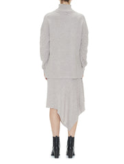Sabatini Textured Cable Roll Neck jumper back
