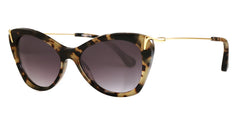 lizabeth and James Filmore olive tortoise sunglasses side view
