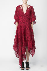 Acler Langford Dress Crimson