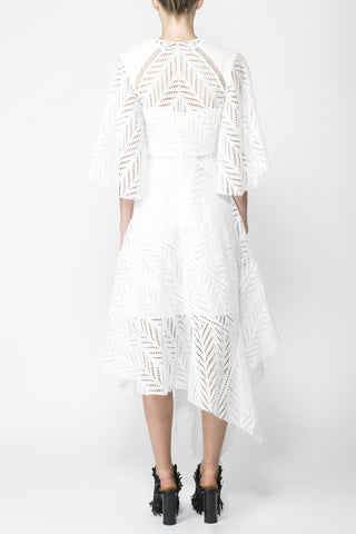 Acler Langford Dress Ivory