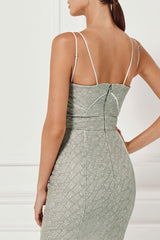 Misha Collection Milly Dress Back