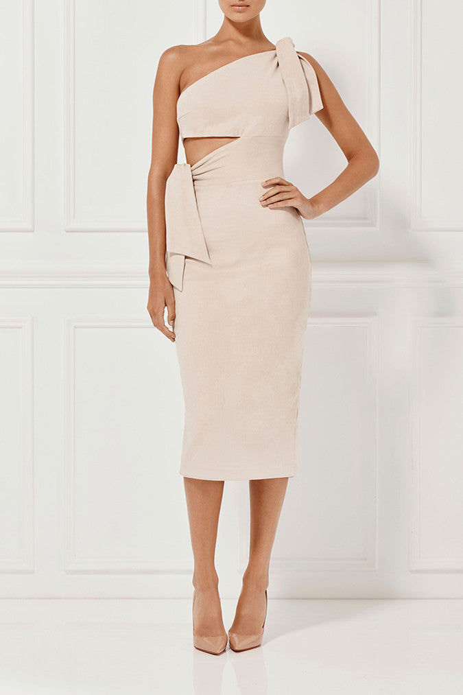 Misha Collection Stefania Suede Dress