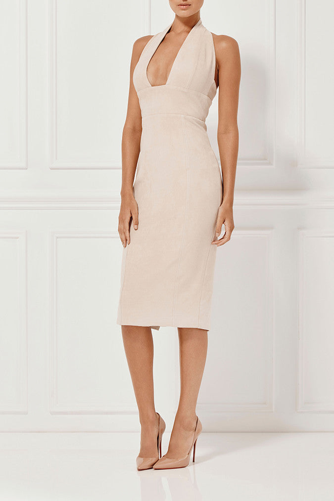 Misha Collection Tanya Suede Dress