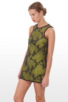 Shakuhachi - Embroidered Shift Dress