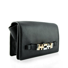 Dylan Kain The sixto shoulder bag/clutch Black side view