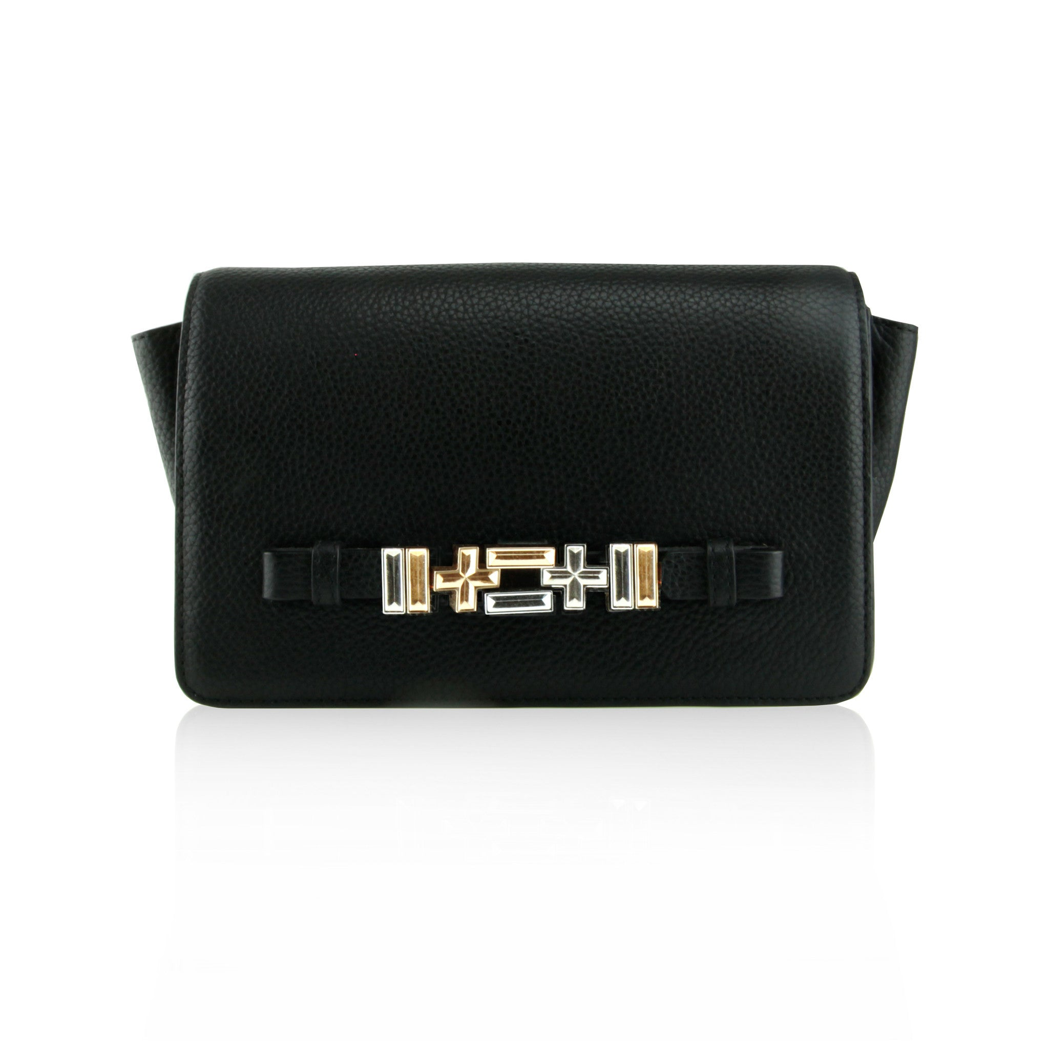 Dylan Kain The sixto shoulder bag/clutch Black
