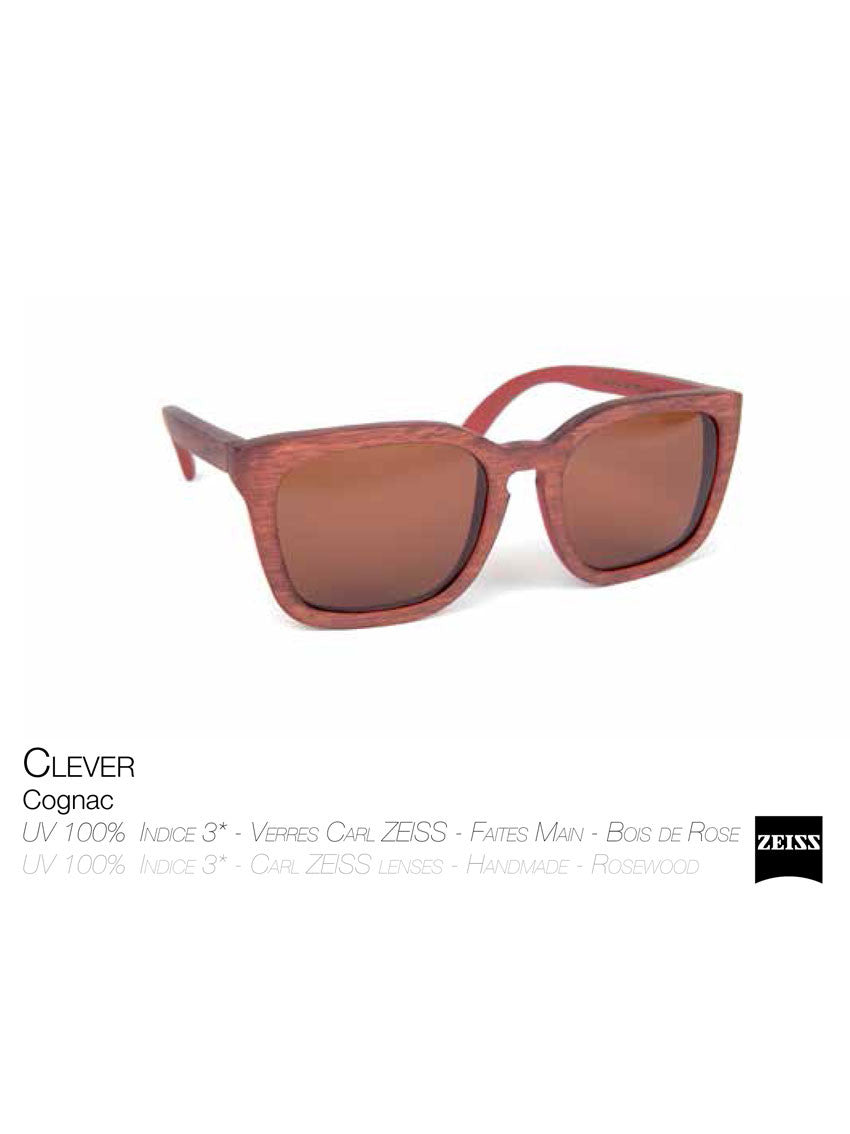 Waiting For The Sun cognac Clever sunglasses