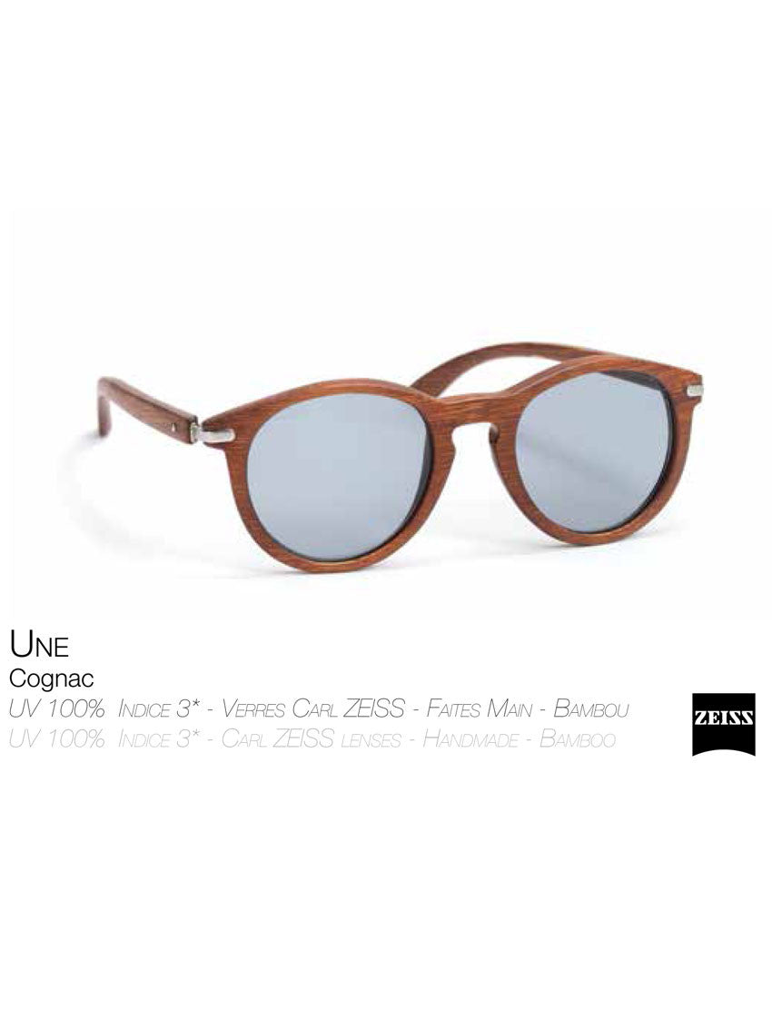Waiting For The Sun cognac  Une sunglasses