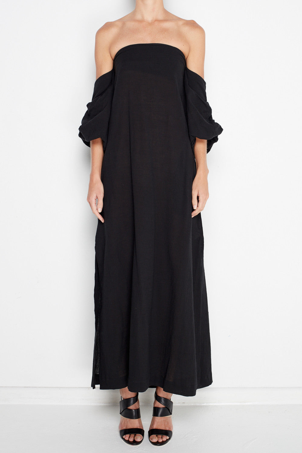 MLM - Pillar Shoulder Midi Dress