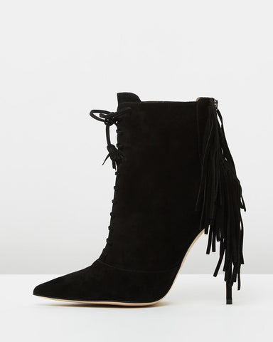 The Mode Collective -  Tassle Ankle Bootie