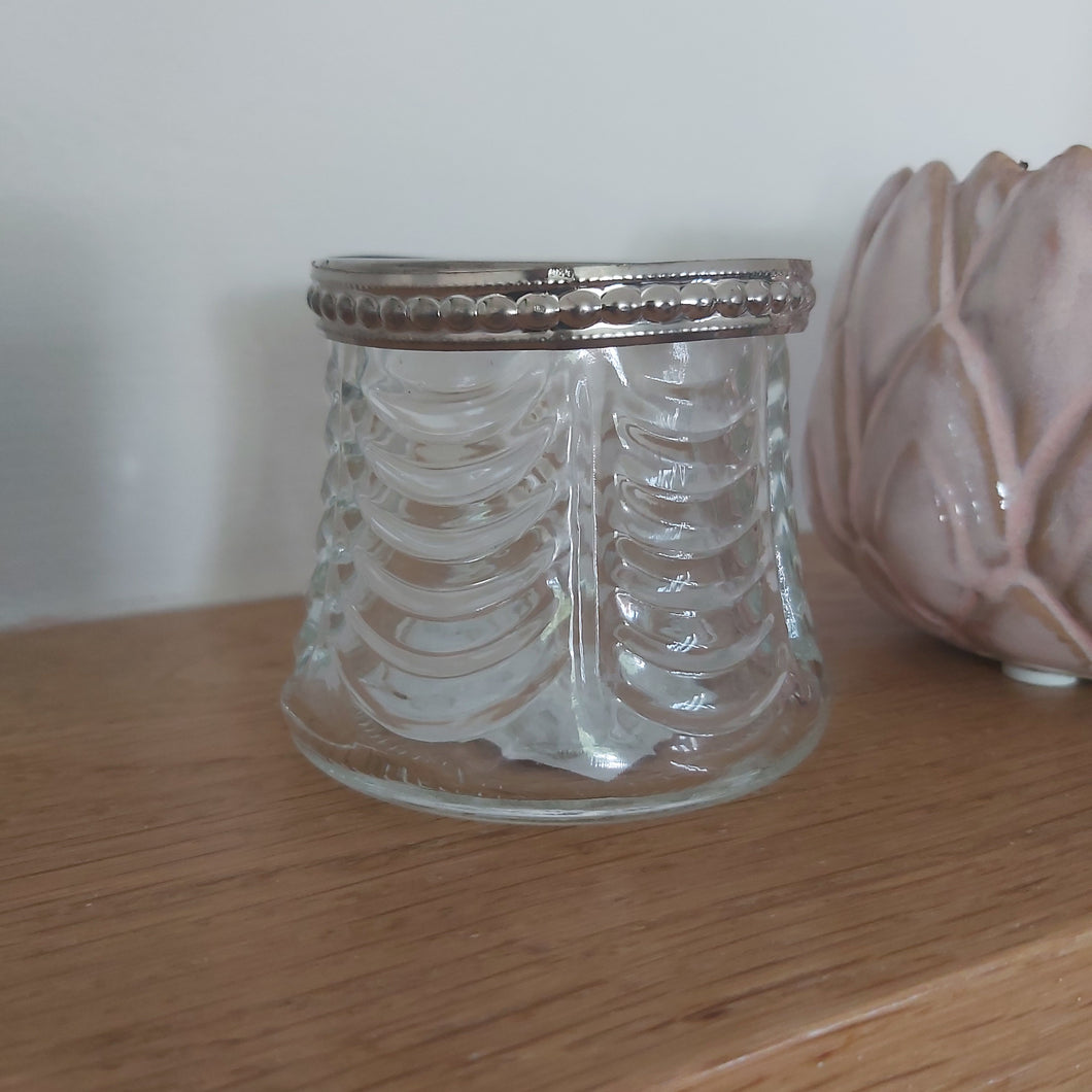 Clear Ridge Antique Candle Pot