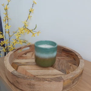 Eucalyptus Candle Pot