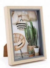Load image into Gallery viewer, Chunky Wood Photo Frame - 2 Sizes