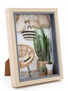 Chunky Wood Photo Frame - 2 Sizes