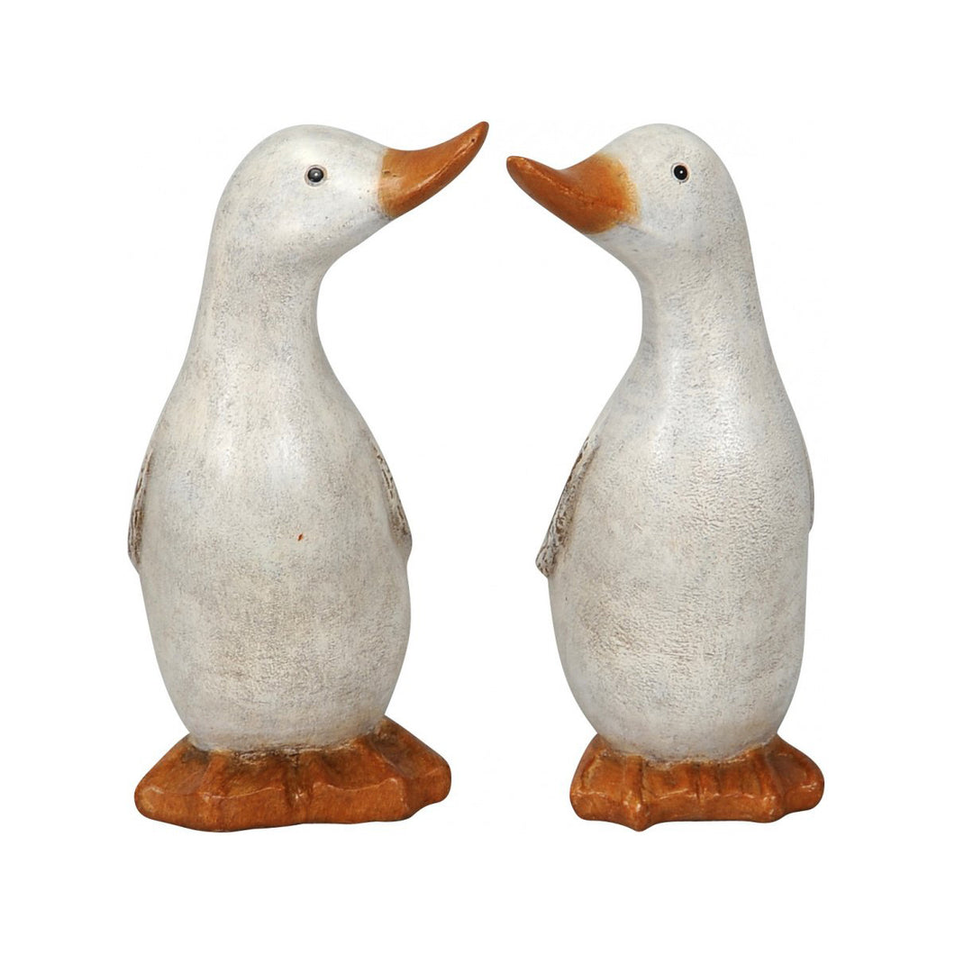 White Duck Ornament