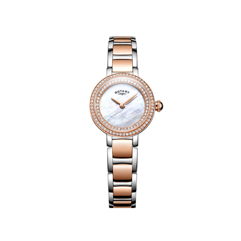 Rotary Ladies Stone Set Cocktail Watch LB05086/41