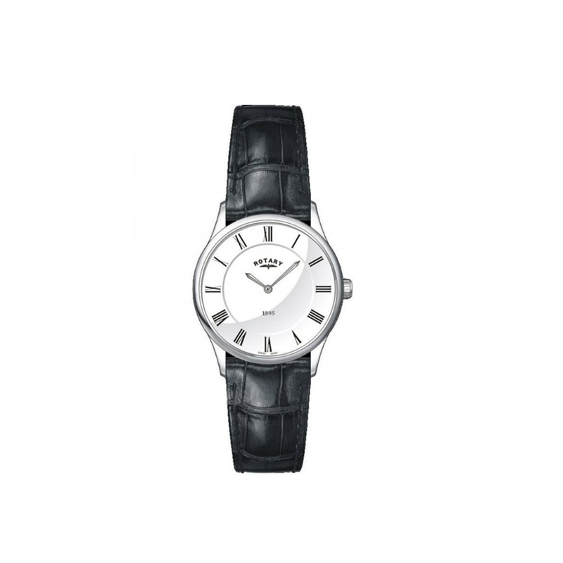 Ladies Rotary Swiss Made Ultra Slim Quartz Watch LS08200/01