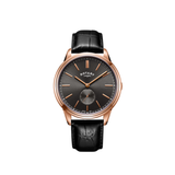 Rotary Rose Gold Cambridge Offset Gents GS05364/20