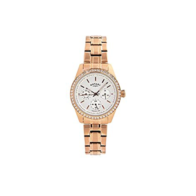 Rotary Multifunction Ladies Rose Gold LB00160/02