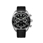 Luxury Eterna Super KonTiki Chronograph Manufacture Automatic Black watch 777041491382