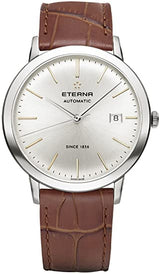 Luxury Auto Eterna Eternity for him st steel case scratch resistant crystal 40mm 2700.41.11.1384