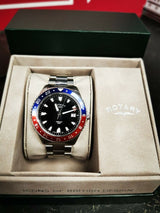Rotary Henley Red/Blue GB05108/30