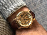 Rotary Gold Plated Skeleton GS02941/03