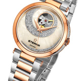 Luxury Eterna Women's Grace Stainless Steel Mother of Pearl Dial 294360691730
