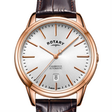 Rotary Rose Gold Cambridge Gents Automatic GS05252/02
