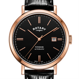 Rotary Rose Gold Windsor Gents Automatic GS05319/04