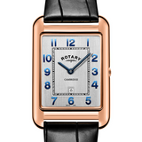 Rotary Gents Rose Gold PVD Strap Cambridge GS05284/70