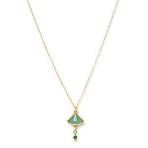 Aqua Triangle Chain