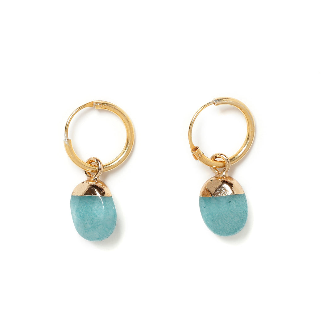 Jade Veraman mini hoops