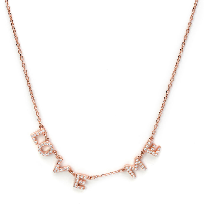 Love Me Chain in Rose Gold