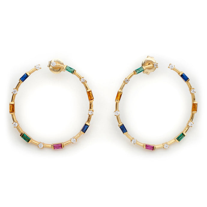 Palletes Hoops In Gold