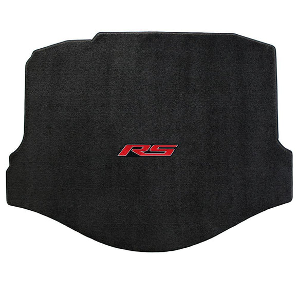 Camaro 2010-2015 Cargo/Trunk Mat - Ultimat Lloyds Mat with RS Logo Script: Jet Black