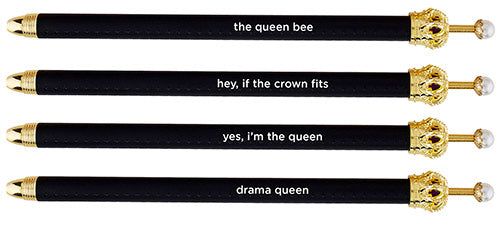 Black Crown Pen