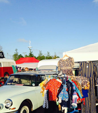 Candy Says at the Classic Car Boot Sale, Kings Cross - April 22nd 2017