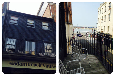 Margate Retro Rooms outside view