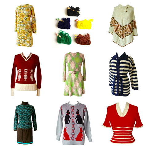 Vintage Knitwear at Candy Says