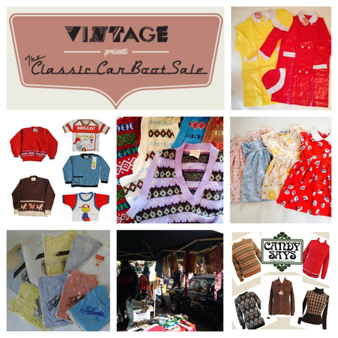 Candy Says Vintage Clothing at the Classic Car Boot Sale