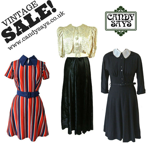 Vintage Clothing & Accessories Sale