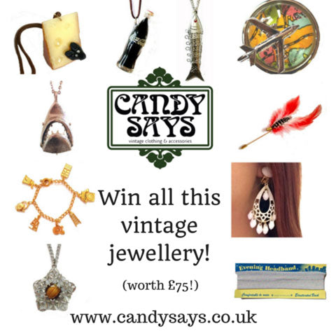 Win vintage jewellery at Candy Says
